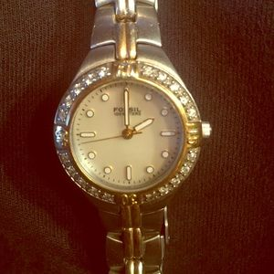 Fossil Women's silver stainless watch